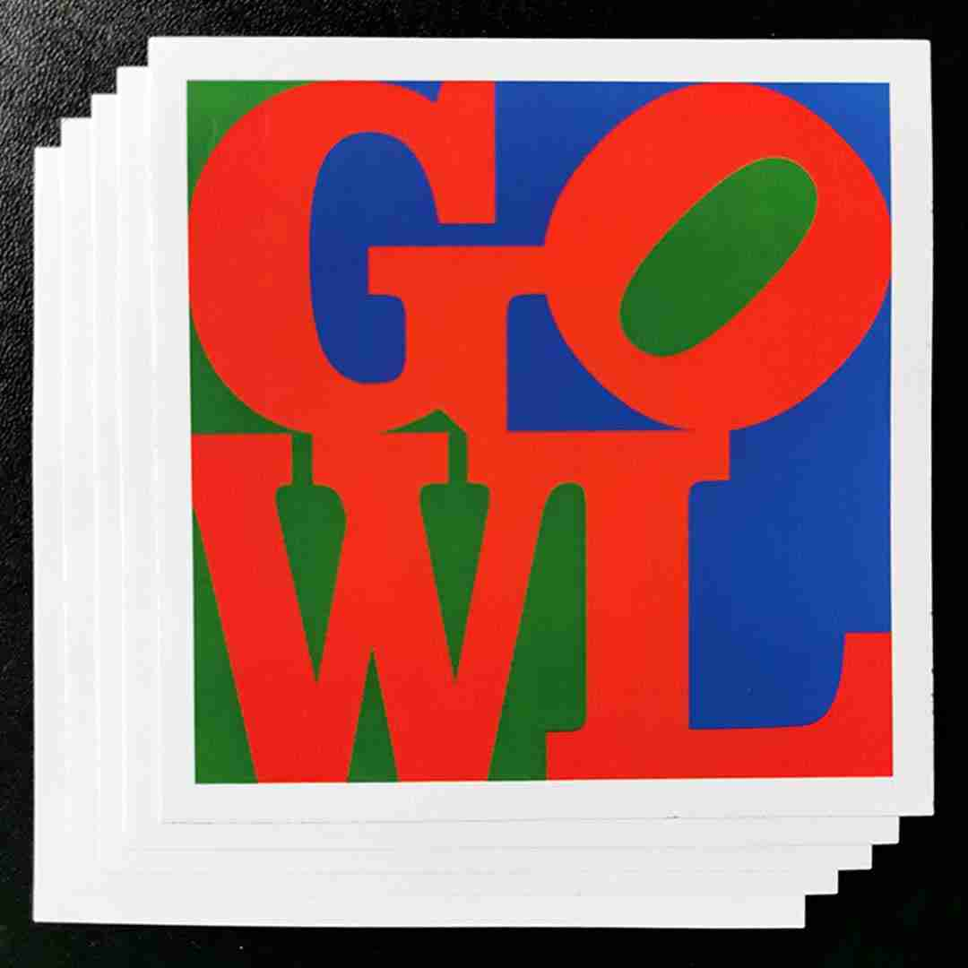 Gowl Sticker Pack (6x Square Stickers)